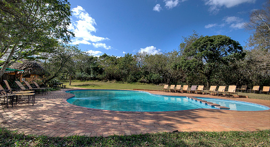 Swimmingpool Hilltop Camp Hluhluwe iMfolozi Game Reserve